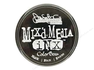 ColorBox Mix'd Media Inx Pad by Donna Salazar Black