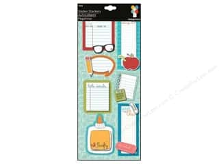 Imaginisce Sticker Geek Stacker A to Z Notes
