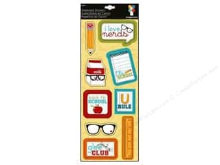 Imaginisce Sticker Geek Chip I Love Nerds