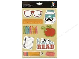 Imaginisce Sticker Geek Canvas Study Buddy