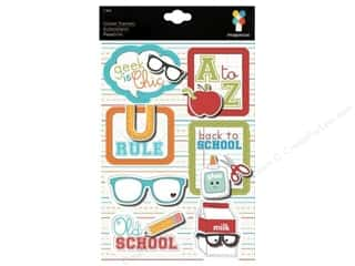 Imaginisce Sticker Geek Stacker Back To School