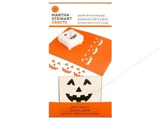 Martha Stewart Punch All Over The Page Jack O Lantern