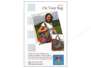 Books & Patterns Vacations: Poorhouse Quilt Design On Tour Bag Pattern