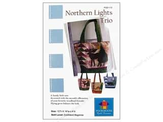 "Purses 14"": Poorhouse Quilt Design Northern Lights Trio Pattern"