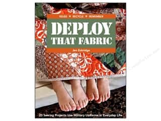 Books $5-$10 Clearance: Deploy That Fabric Book
