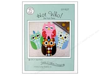 Susie C Shore Designs $2 - $5: Susie C Shore Hot Who Pattern