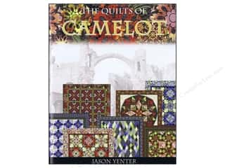 Books $5-$10 Clearance: The Quilts Of Camelot Book