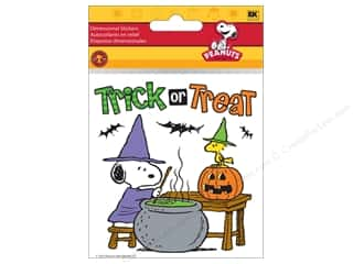 EK Peanuts Stickers Snoopy Cauldron