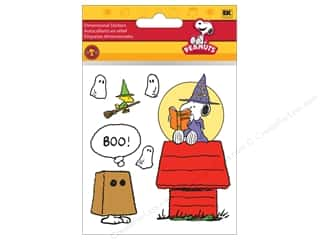 EK Peanuts Stickers Snoopy Magic