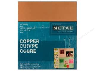 Creative Metal Copper Rectangles 5 1/4 x 5 3/4 in.