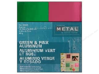 Creative Metal Aluminum 5 1/4 x 5 3/4 in. Green & Pink