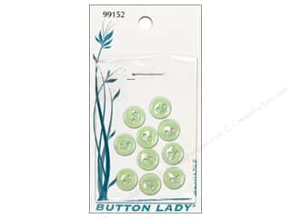 JHB: JHB Button Lady Buttons 1/4 in. Seafoam Green #99152 10 pc.