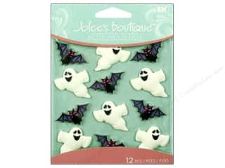 Jolee's Boutique Cabochons Ghost and Bat