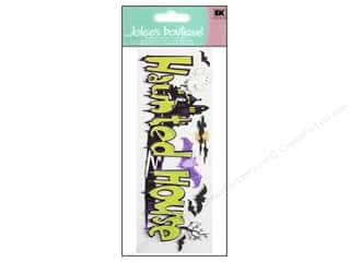 Batting Gifts: Jolee's Boutique Title Stickers Haunted House