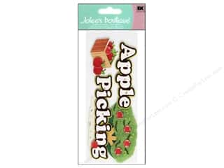 Jolee's Boutique Title Stickers Apple Picking