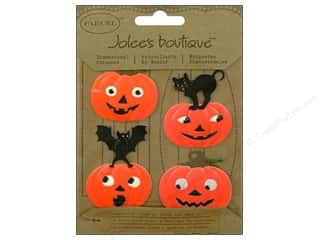 Jolee&#39;s Boutique Stickers Parcel Bat N Cat Pumpkins