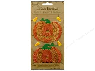 Jolee&#39;s Boutique Stickers Parcel Glitter Pumpkins