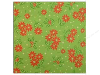 Anna Griffin Paper 12x12 Twinkle Bright Poinsettia (25 sheets)