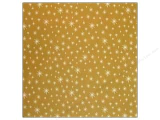 Anna Griffin Paper 12x12 Twinkle Bright Stars Gold (25 sheets)
