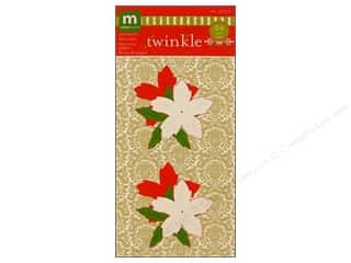 Making Memories Flowers Twinkle Poinsettia