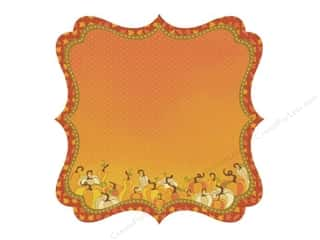 Best Creation Fall / Thanksgiving: Best Creation 12 x 12 in. Paper Die Cut Hello Fall Squash (25 sheets)