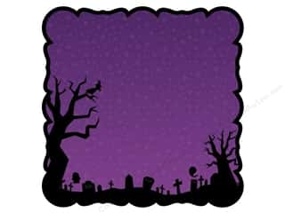 Best Creation Paper Die Cuts / Paper Shapes: Best Creation 12 x 12 in. Paper Die Cut Happy Haunting Hallows (25 sheets)