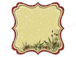 Best Creation Chipboard Shapes: Best Creation 12 x 12 in. Paper Die Cut Merry Christmas Joy (25 sheets)