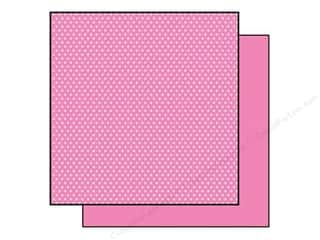 Best Creation 12 x 12 in. Paper Basic Glitter Star Pink (25 sheets)