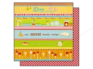 Best Creation Paper 12x12 Moms Kitchen Queen (25 sheets)