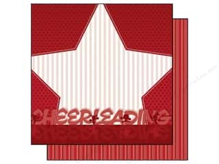 Best Creation Paper 12x12 Team Spirit Cheerleading (25 sheets)