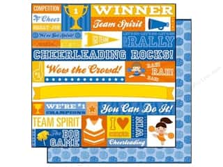 Best of 2012 Cosmo Cricket Glubers: Best Creation 12 x 12 in. Paper We've Got Spirit (25 sheets)