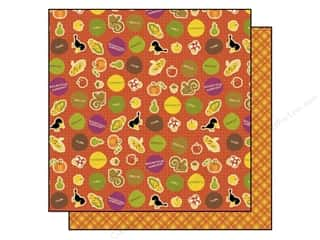 Best Creation Paper 12x12 Hello Fall Bountfl Hrvst (25 sheets)