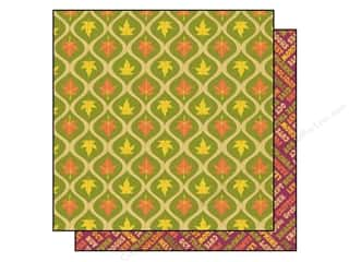 2013 Crafties - Best Adhesive: Best Creation 12 x 12 in. Paper Hello Fall Leaves Fling (25 sheets)