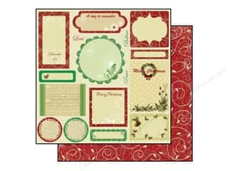 Best Creation Paper 12x12 Merry Christmas Tags (25 sheets)
