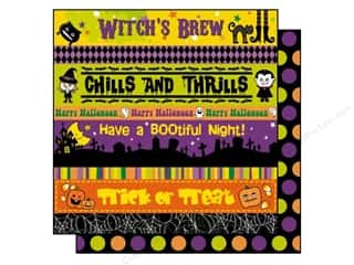 Best Creation 12 x 12 in. Paper Happy Haunting Thrills (25 sheets)