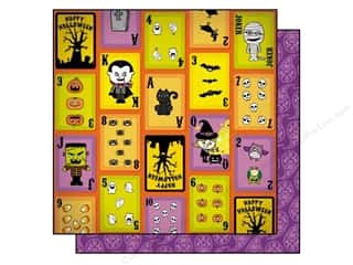 Best Creation Printed Cardstock: Best Creation 12 x 12 in. Paper Happy Haunting Collection Joker (25 sheets)