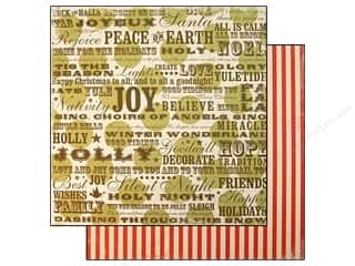 "Making Memories Paper 12""x 12"" Specialty Twinkle Words"