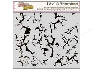 The Crafter's Workshop Template 12 x 12 in. Rustic Paint
