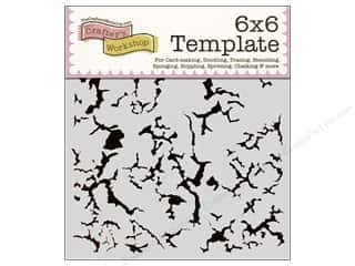 Crafter's Workshop, The $6 - $27: The Crafter's Workshop Template 6 x 6 in. Rustic Paint