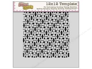 The Crafters Workshop Template 12x12 Screen