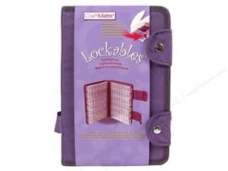 Quilting Craft & Hobbies: Craft Mates Lockables Case with Large 7 Compartment 12pc