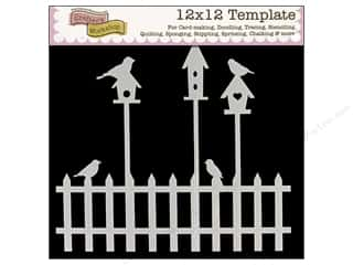 The Crafters Workshop Template 12x12 Birdhouses