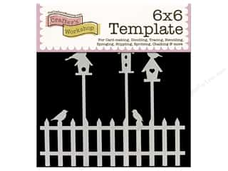 The Crafters Workshop Template 6x6 Birdhouses