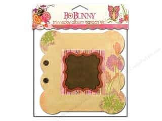 Chipboard Albums: Bo Bunny Album Mini Edgy Garden Girl