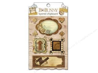 sticker: Bo Bunny Chipboard Stickers Layered Et Cetera