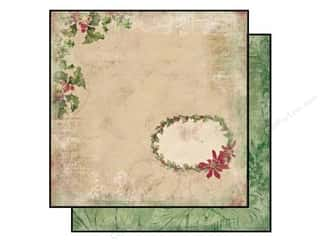 Bo Bunny Paper 12x12 Father Christmas Poinsettia (25 sheets)