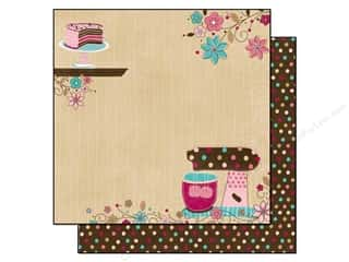 Kitchen > Scrapbooking &amp; Paper Crafts: Bo Bunny Paper 12x12 Sweet Tooth (25 sheets)