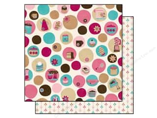 Bo Bunny Paper 12x12 Sweet Tooth Dot (25 sheets)
