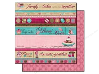 Kitchen > Scrapbooking &amp; Paper Crafts: Bo Bunny Paper 12x12 Sweet Tooth Indulge (25 sheets)