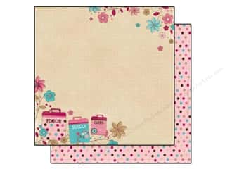 Bo Bunny Paper 12x12 Sweet Tooth Just A Pinch (25 sheets)